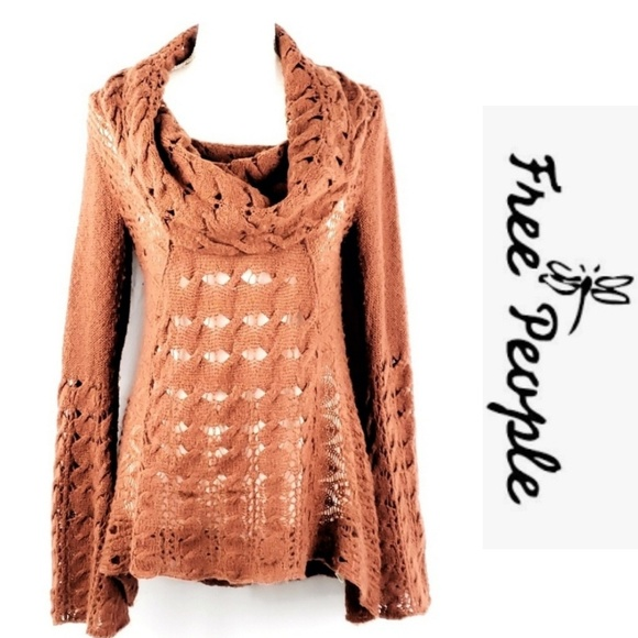 Free People Sweaters - Free People Womens Bell Sleeve Sweater Size S/M